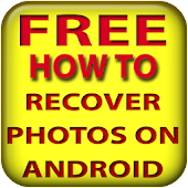 Recover photos on android