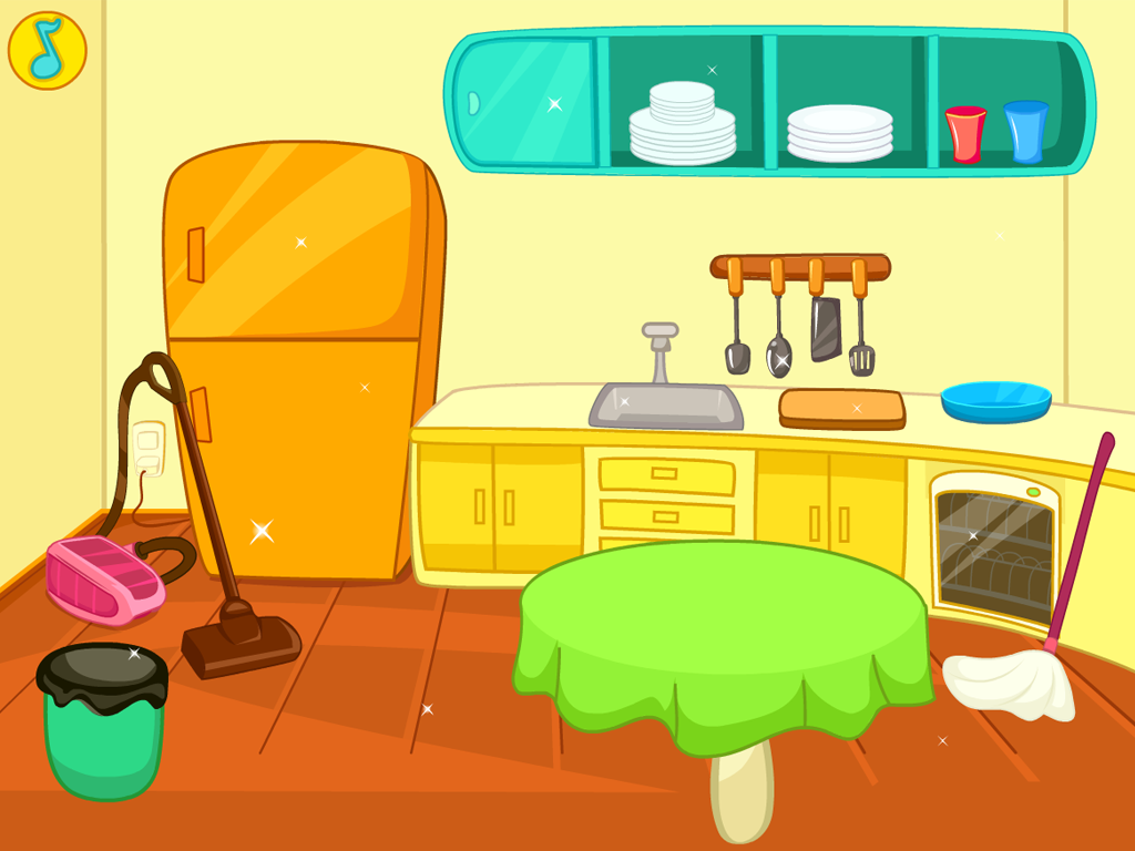 free clipart kitchen cleaning - photo #3