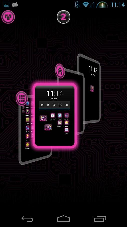 PCB Pink HD TSF Shell Theme - screenshot