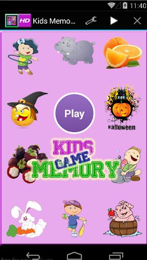 New Kids Memory Game - HD