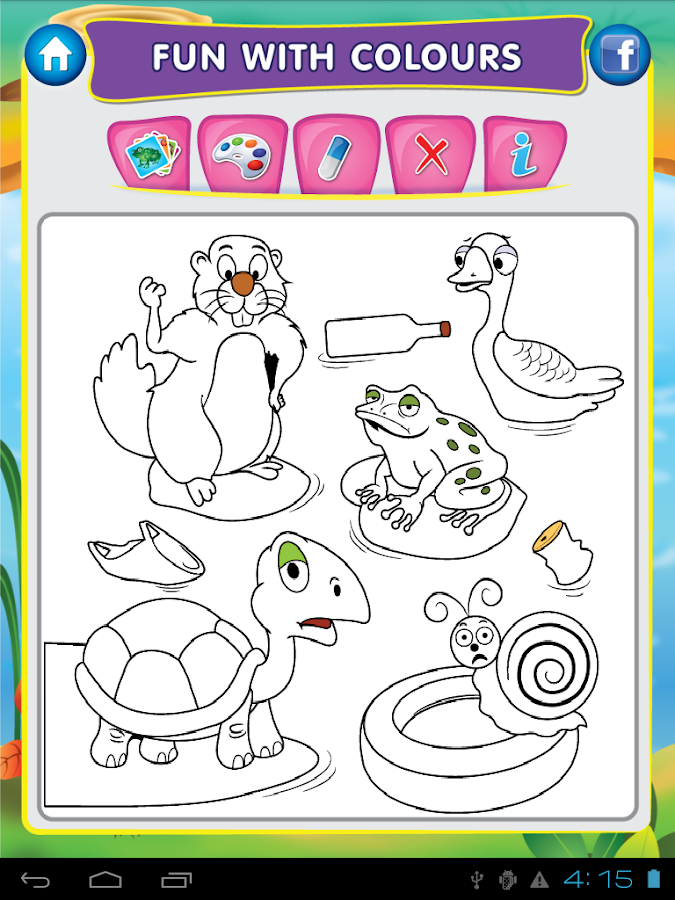 animal pond kids draw paint screenshot - Drawing And Painting For Kids