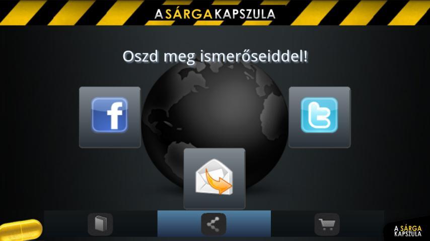 Sárga Kapszula- screenshot