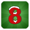 Christmas Crazy Eights logo
