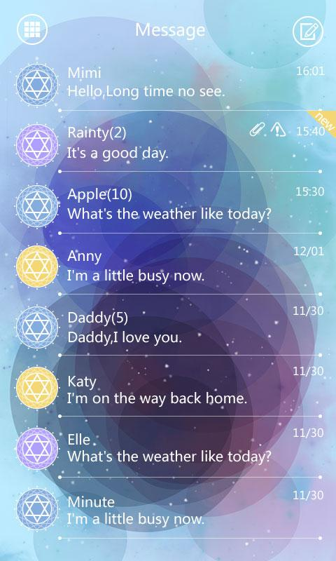 SMS PRO STAR PATH THEME EX- screenshot