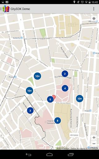 玩旅遊App CitySDK Turismo免費 APP試玩