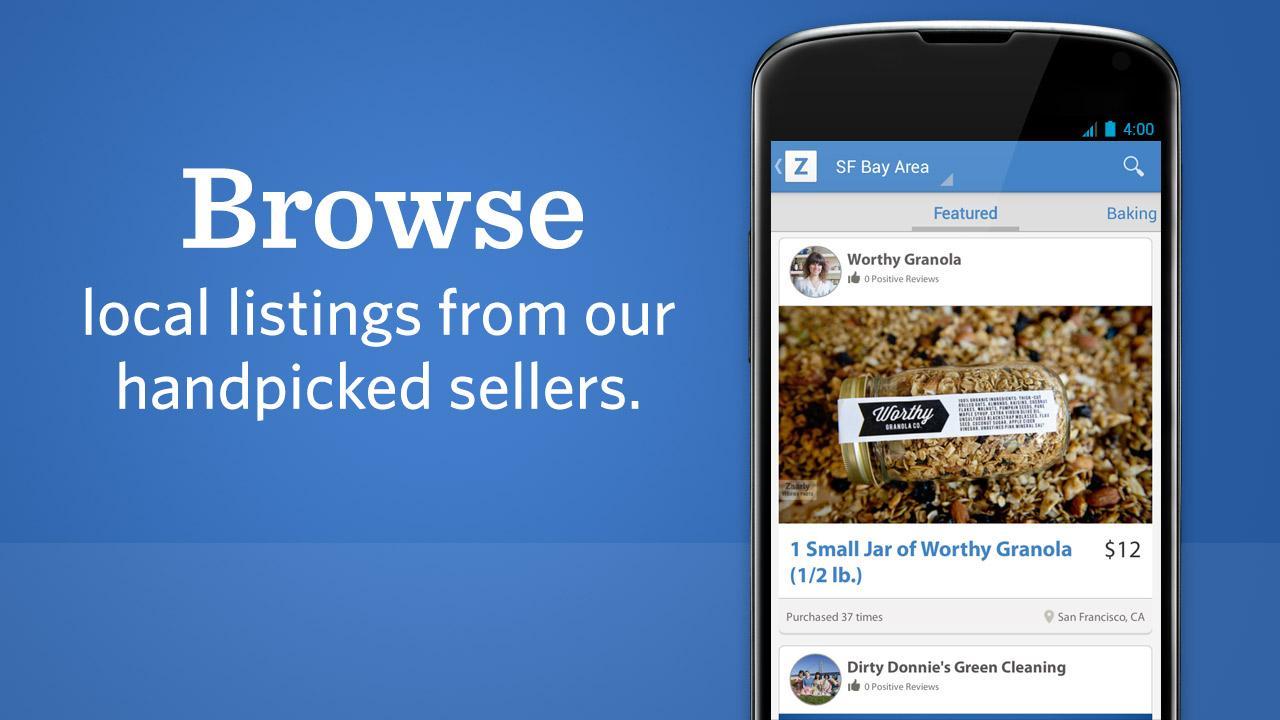 Discover, Hire Service Experts - screenshot