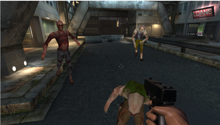 ! Dead Zombie Shooting - screenshot