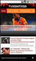 Screenshot of AS Roma news e calciomercato