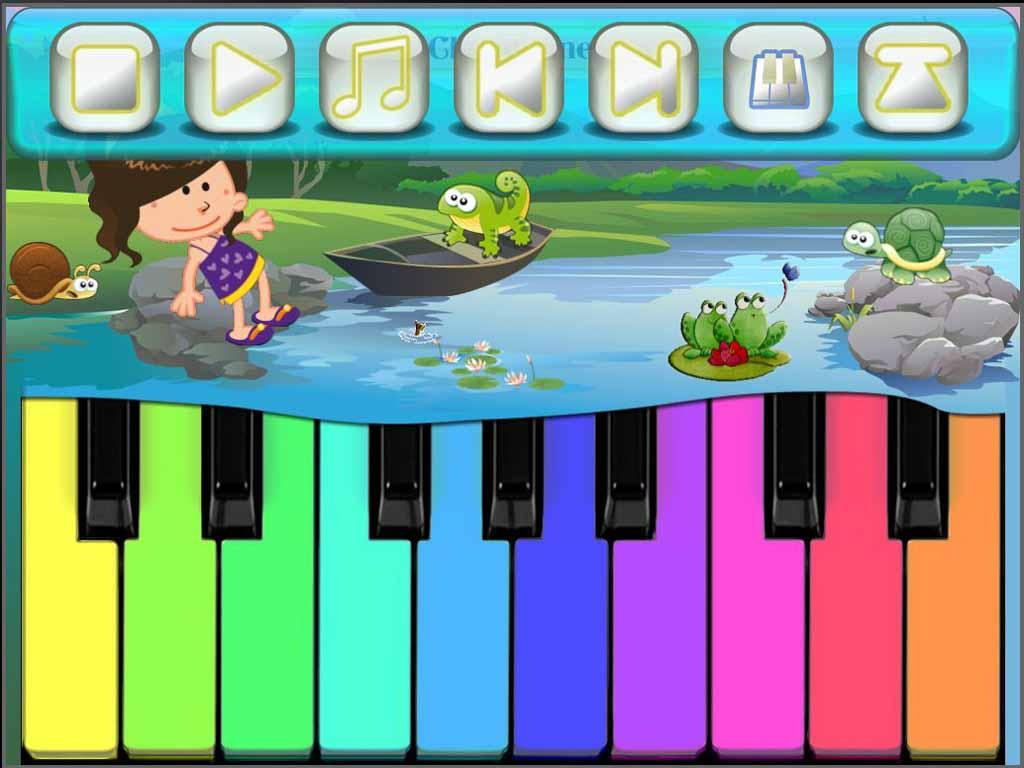 Kids Piano Games LITE - screenshot