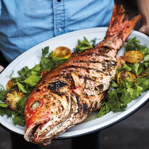 10 Best Grilled Fish With Vegetables Recipes