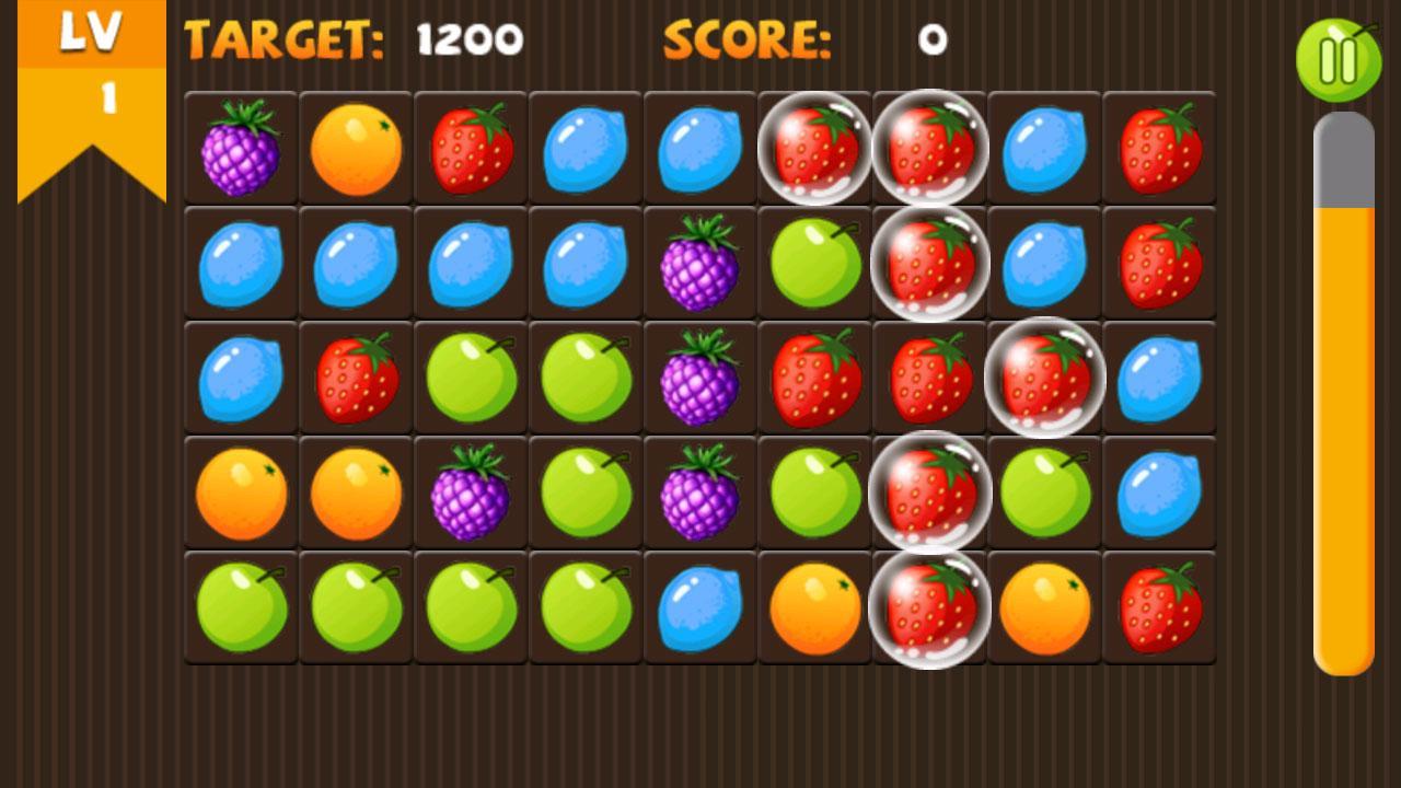 Pop fruit crush - Crazy Fruit Screenshot