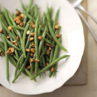 Green Beans with Almond-and-Lemon Brown Butter.