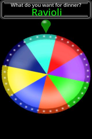 Spin The Wheel!!! - screenshot