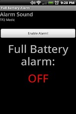 Full Battery Alarm Pro
