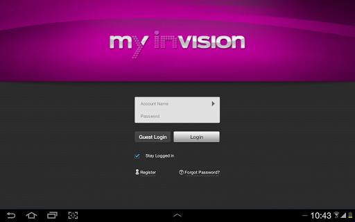 My Invision For Tablet