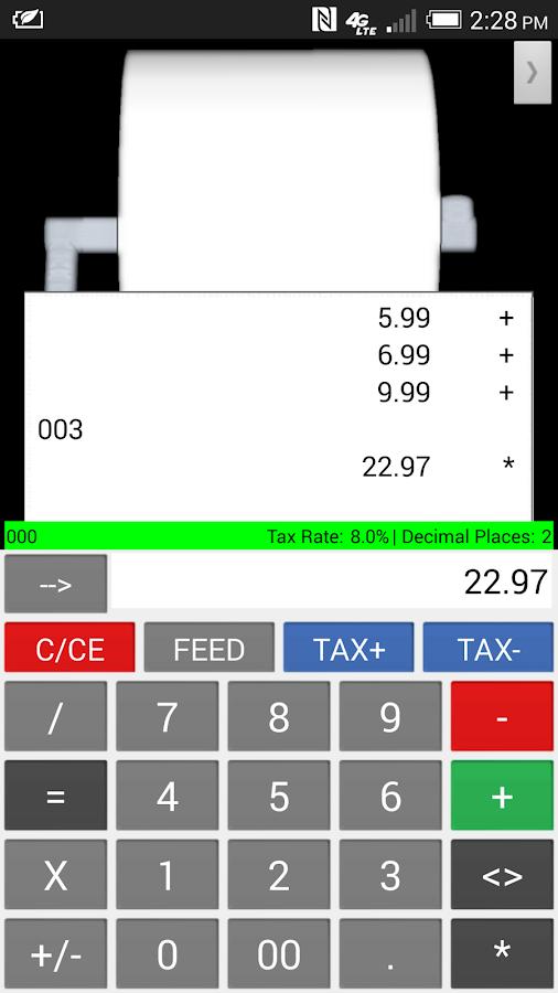 adding machine app