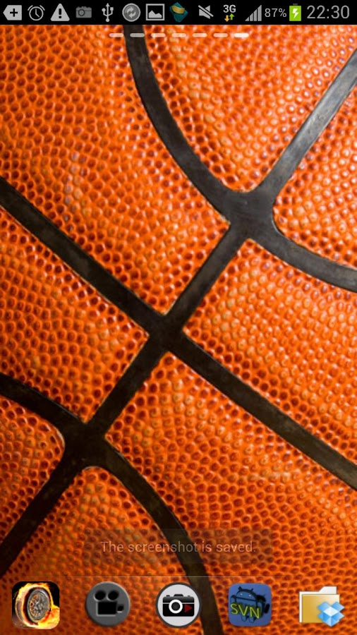 Free Basketball Live Wallpaper - screenshot