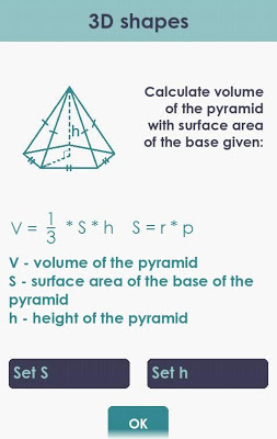 Volume and Surface Area - screenshot