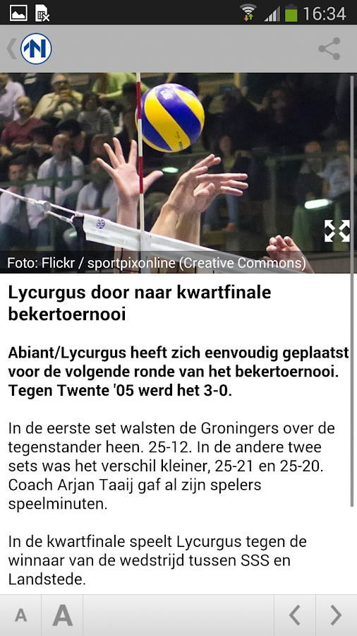 RTV Noord - screenshot