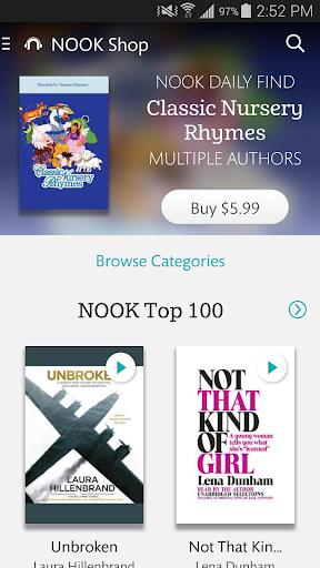 NOOK Audiobooks download offline 1