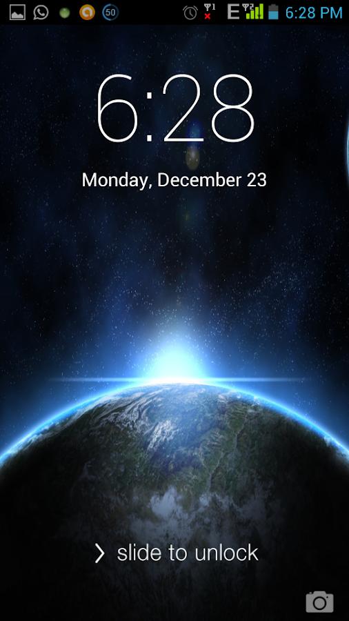 iScreenLock - screenshot