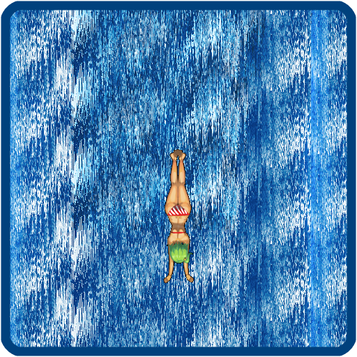 滝のアクション ダイビング 體育競技 LOGO-玩APPs