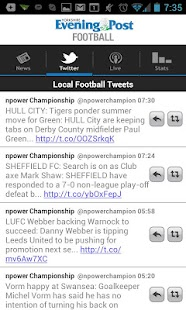 YEP Football app - screenshot thumbnail