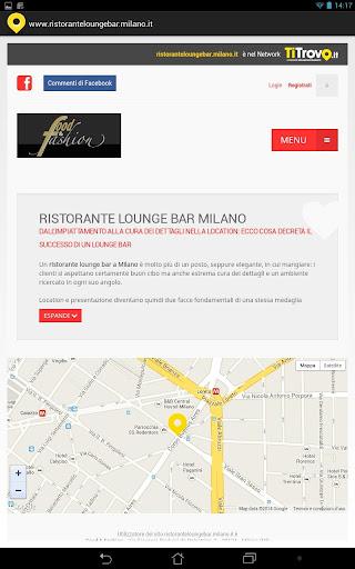 Ristorante Lounge Bar Milano
