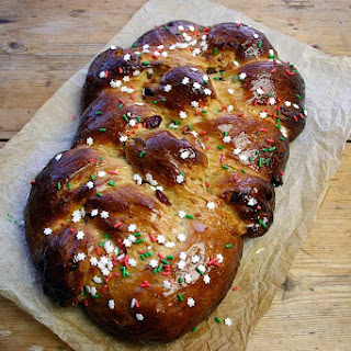Cinnamon And Cranberry Festive 4 Plait Loaf