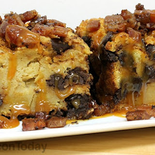 How to Make Bacon Chocolate Guinness Challah Bread Pudding