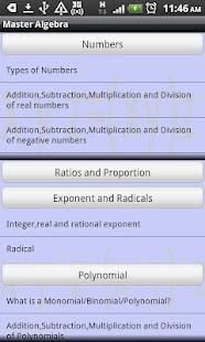 Master-Algebra Screenshot