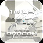 White Dragon Clock Widget App v2.16