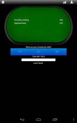 Poker Odds Trainer - screenshot