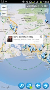 Twitmap - Map for Twitter.- screenshot thumbnail