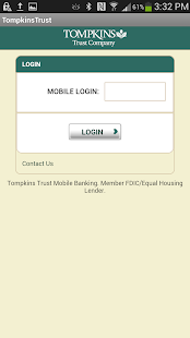 Tompkins Trust Company Mobile - screenshot thumbnail