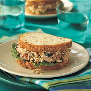 Mediterranean Tuna Sandwiches.