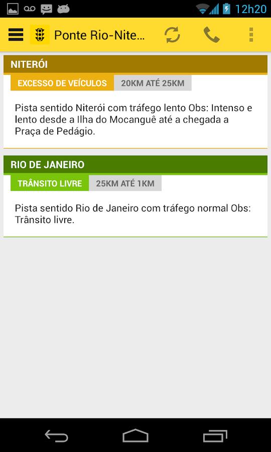 Trânsito Rio- screenshot