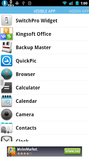 Hide App Free for Root