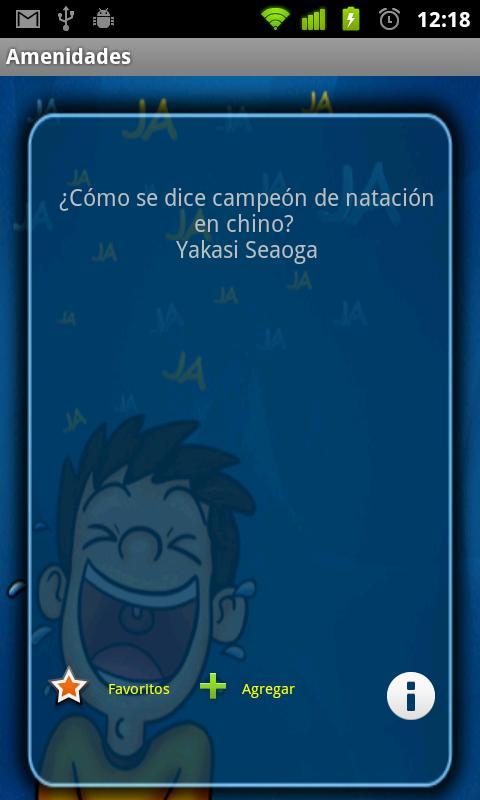 Amenidades y Chistes- screenshot