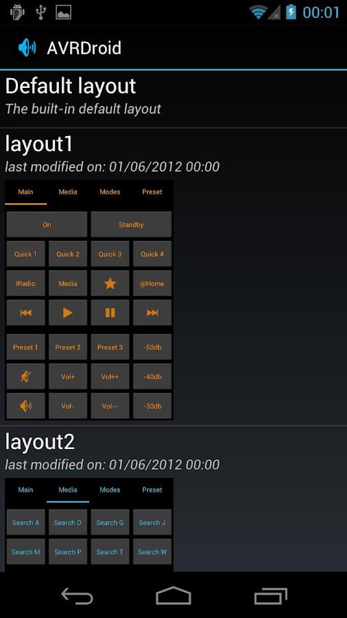 AVRDroid- screenshot