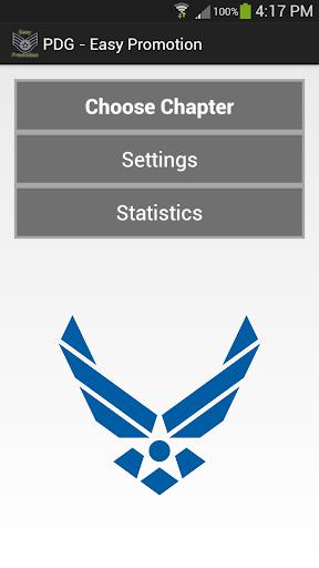 Air Force PDG WAPS Flashcards