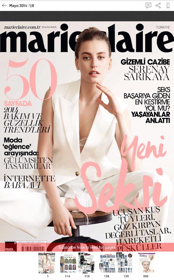 Marie Claire Türkiye - screenshot