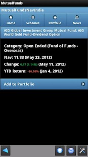 Mutual Funds India Lite- screenshot thumbnail
