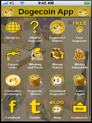 Dogecoin Crypto Currency App