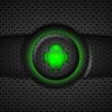 Green Glow Go SMS Theme logo
