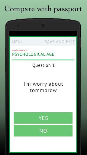 测试:心理年龄