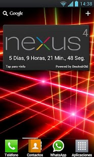 Nexus 4 Widget - screenshot thumbnail