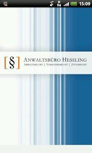 Anwaltsbüro Hessling- screenshot thumbnail