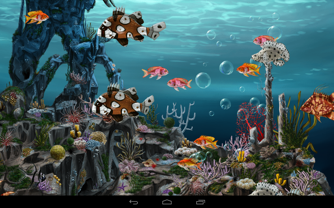 Wallpaper Animasi 3d Aquarium Bergerak Images