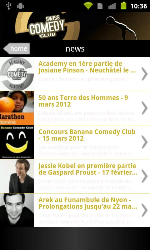 Swiss Comedy Club - screenshot